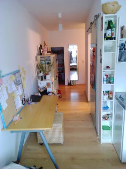 helles und ruhiges 1 zimmer apartment f r studenten klein aber fein 1 zimmer wohnung in. Black Bedroom Furniture Sets. Home Design Ideas