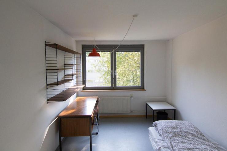 Wohnheimzimmer mit bad in waldh user ost 1 zimmer for Zimmer tubingen