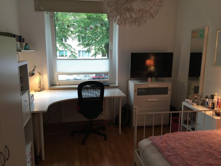 m bliertes 13m zimmer zur zwischenmiete in 3er wg im kaiserviertel wg zimmer in dortmund. Black Bedroom Furniture Sets. Home Design Ideas