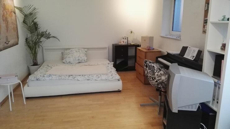 m blierte 46m2 wohnung mit sauna 1 zimmer wohnung in. Black Bedroom Furniture Sets. Home Design Ideas