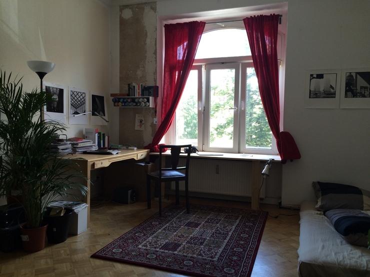 sonniges m bliertes 21qm zimmer in bester lage wohngemeinschaft in dresden neustadt. Black Bedroom Furniture Sets. Home Design Ideas