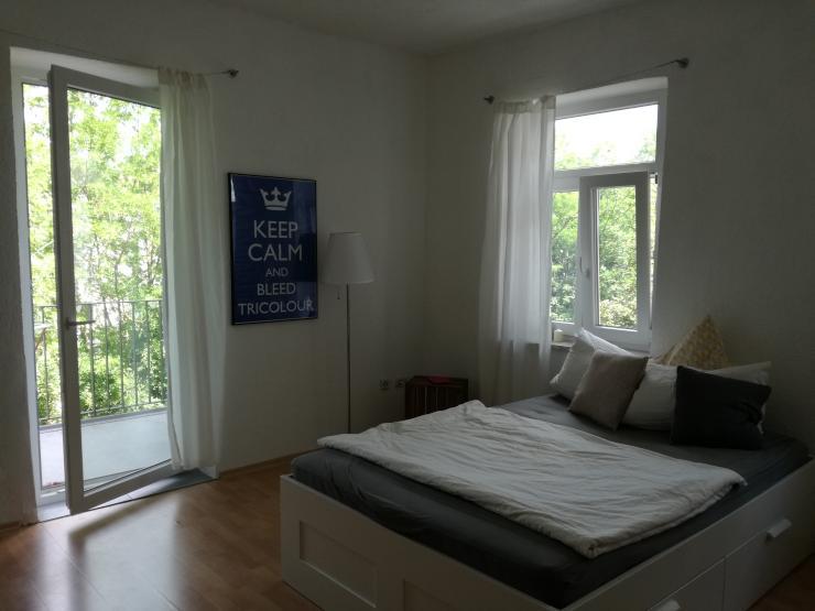 1 zimmer wohnung direkt an der wertach 1 zimmer wohnung in augsburg wertachbr cke. Black Bedroom Furniture Sets. Home Design Ideas