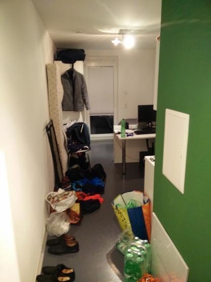 moderne m blierte 1 zimmer wohnung 1 zimmer wohnung in frankfurt am main bockenheim. Black Bedroom Furniture Sets. Home Design Ideas
