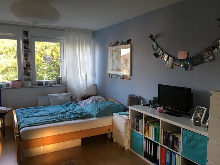 zimmer in 2 er wg zur zwischenmiete wohngemeinschaft in. Black Bedroom Furniture Sets. Home Design Ideas