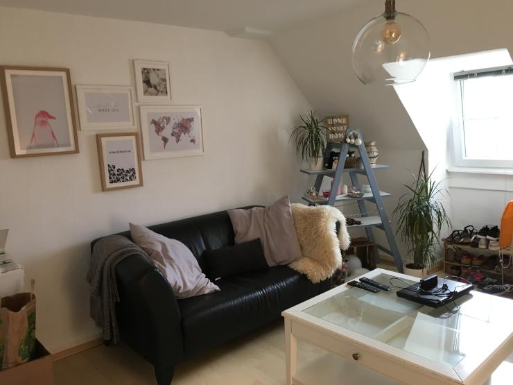 kleine 2 zimmer wohnung in sachsenhausen wohnung in. Black Bedroom Furniture Sets. Home Design Ideas