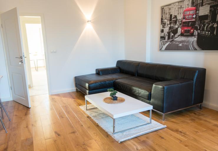 kernsanierte helle jugendstilwohnung eichendielen stuck deckenspots hochwertig m bliert. Black Bedroom Furniture Sets. Home Design Ideas