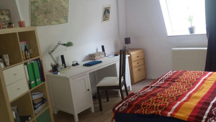 sch nes zimmer im kaiserviertel mit zus tzlichem wohnzimmer wg zimmer in dortmund mitte. Black Bedroom Furniture Sets. Home Design Ideas