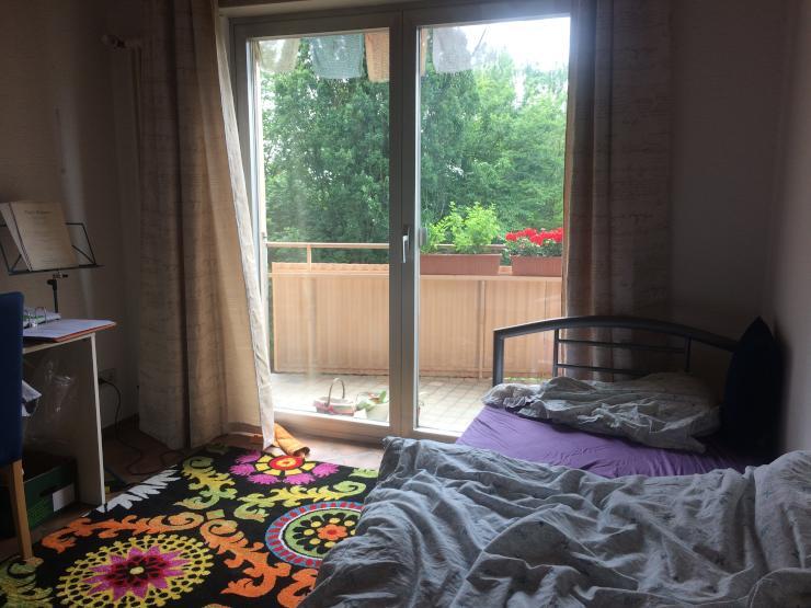 zwischenmiete m bliertes zimmer mit balkon 14 qm august und september datum flexibel wg. Black Bedroom Furniture Sets. Home Design Ideas