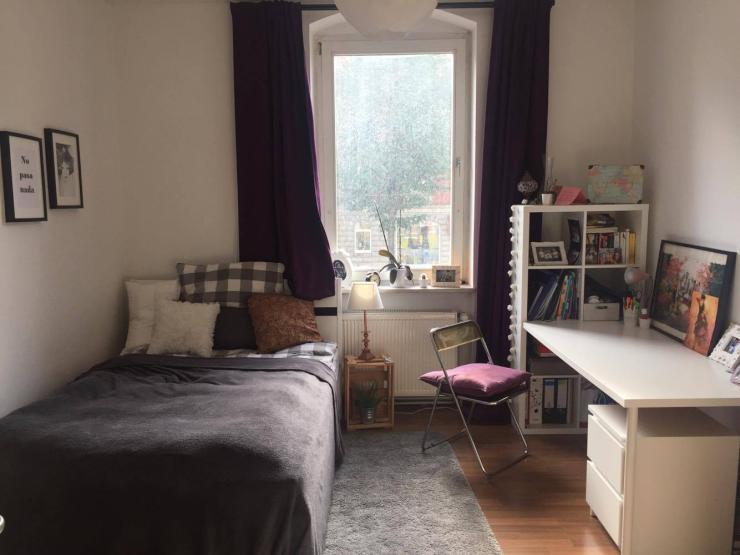 helles zentrales 18 qm zimmer in der s dstadt wg zimmer kassel s d. Black Bedroom Furniture Sets. Home Design Ideas