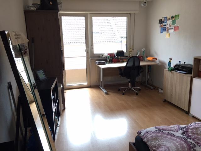 1 zimmer apartment innenstadt quadrate 2 minuten zur universit t 1 zimmer wohnung in. Black Bedroom Furniture Sets. Home Design Ideas
