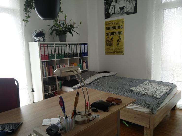 gem tliches zimmer im depot zu vermieten wohngemeinschaft t bingen s dstadt. Black Bedroom Furniture Sets. Home Design Ideas