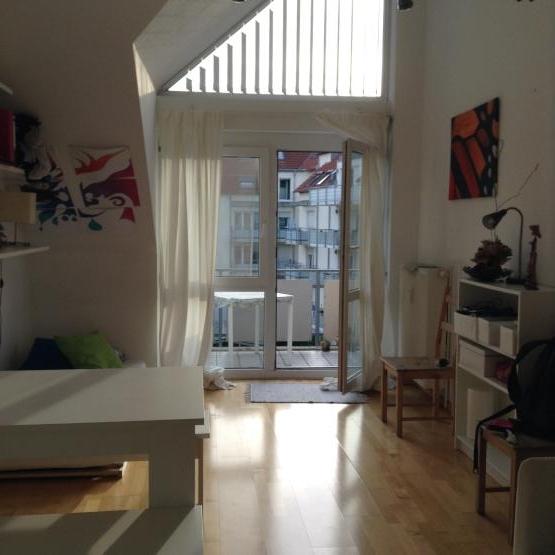 1 zi wohnung 1 zimmer wohnung in freiburg im breisgau betzenhausen. Black Bedroom Furniture Sets. Home Design Ideas