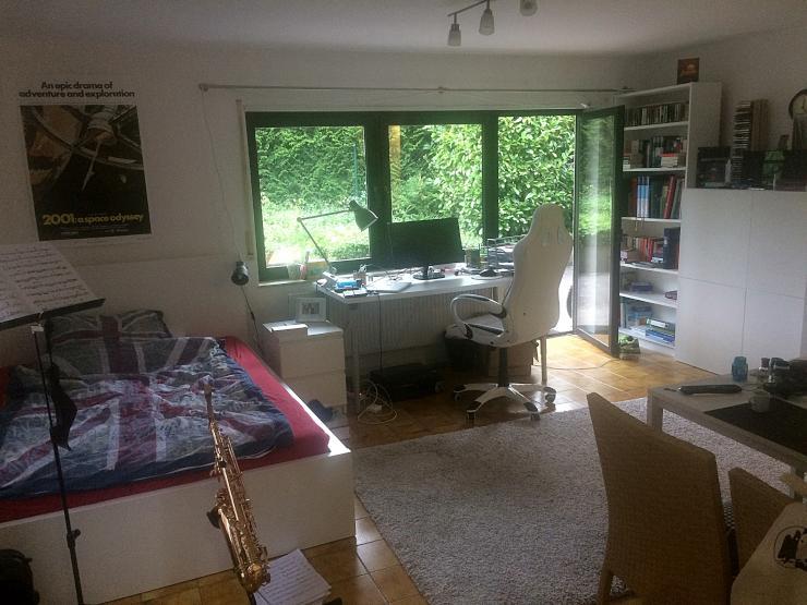 suche einen nachmieter f r meine 1 zimmer wohnung komplett m bliert in homburg birkensiedlung. Black Bedroom Furniture Sets. Home Design Ideas
