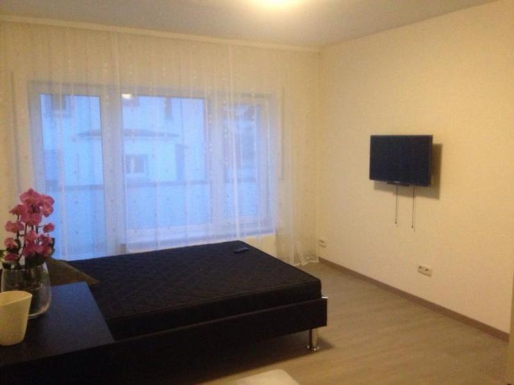 komplett m bliertes apartment in frankfurt schwanheim 1 zimmer wohnung in frankfurt am main. Black Bedroom Furniture Sets. Home Design Ideas