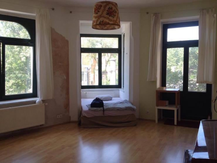 gro es 25 qm zimmer mit klavier wgzimmer leipzig altlindenau. Black Bedroom Furniture Sets. Home Design Ideas