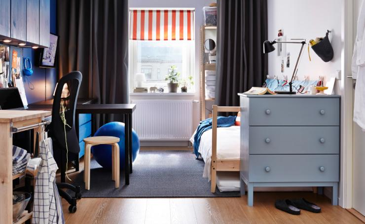 franzoesisch bac s moebl zimmer mit verpflegung aufsichtspflichten m bliertes wg zimmer. Black Bedroom Furniture Sets. Home Design Ideas