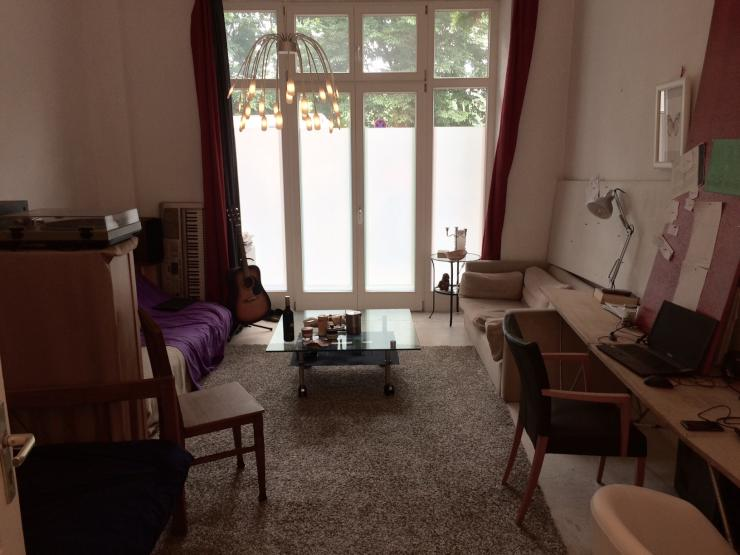 wohnung am mauerpark 1 5 zimmer wohnung in berlin prenzlauer berg. Black Bedroom Furniture Sets. Home Design Ideas