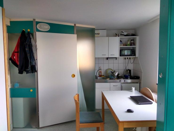 apartment im studentenwohnheim langer kamp zur zwischenmiete 1 zimmer wohnung in braunschweig. Black Bedroom Furniture Sets. Home Design Ideas