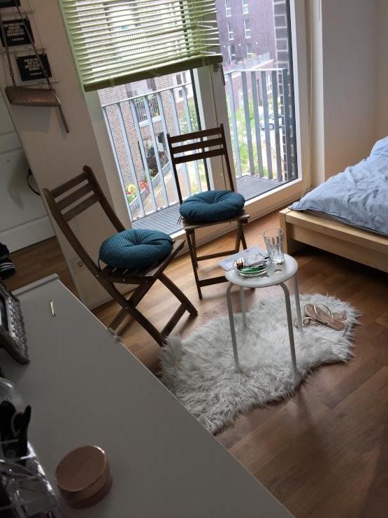 first class wg zimmer mit privatem beach club ambiente. Black Bedroom Furniture Sets. Home Design Ideas