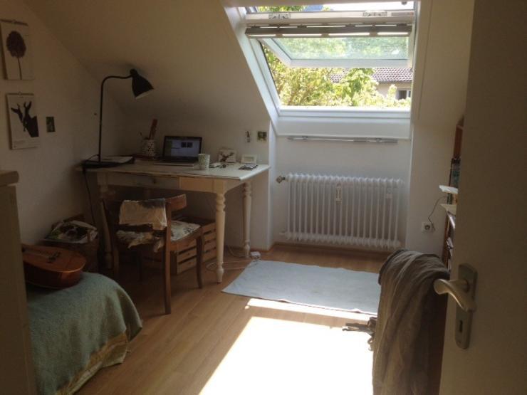 helles zimmer in gem tlicher dachwohnung wg zimmer in freiburg im breisgau littenweiler. Black Bedroom Furniture Sets. Home Design Ideas