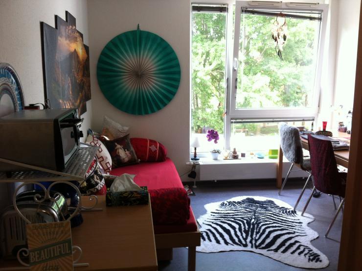 uni n he wohnung im studentenwohnheim an studi zu vermieten 1 zimmer wohnung in bremen horn. Black Bedroom Furniture Sets. Home Design Ideas