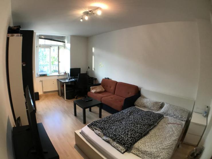 sch nes m bliertes wg zimmer in super lage zwischen stadt und universit t wohngemeinschaft in. Black Bedroom Furniture Sets. Home Design Ideas