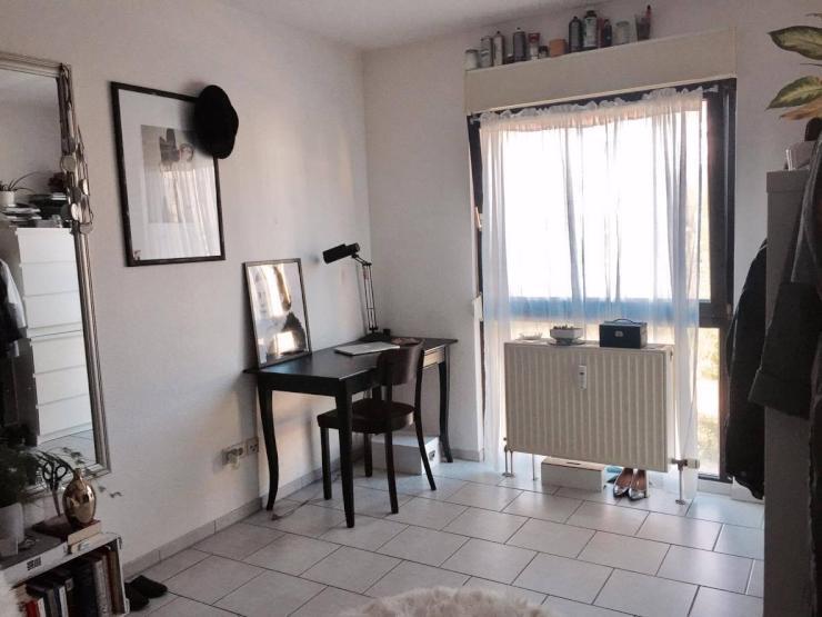 ruhiges 1 zi appartement in uni n he 1 zimmer wohnung in mannheim innenstadt. Black Bedroom Furniture Sets. Home Design Ideas