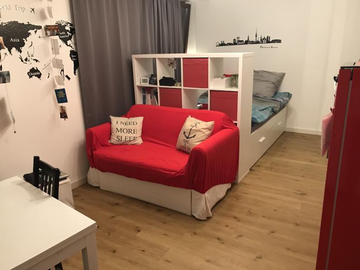 zwischenmiete 1 zi wohnung in der maxvorstadt 1 zimmer wohnung in m nchen maxvorstadt. Black Bedroom Furniture Sets. Home Design Ideas