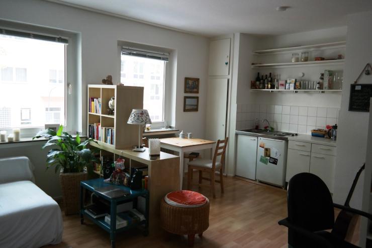 gem tliche 1 zimmer wohnung im zentrum von k ln 1 zimmer. Black Bedroom Furniture Sets. Home Design Ideas