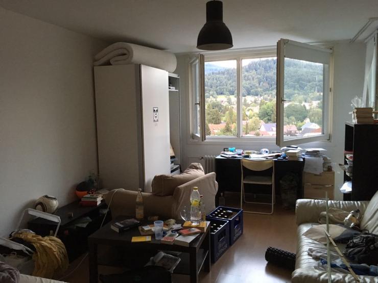 12 qm zimmer in netter 4er wg zentrale lage wg zimmer freiburg im breisgau z hringen. Black Bedroom Furniture Sets. Home Design Ideas