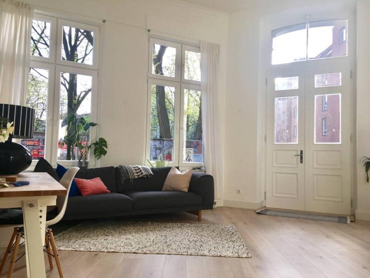 wohn atelier 3 wochen im juli wohnung in hamburg altona altstadt. Black Bedroom Furniture Sets. Home Design Ideas