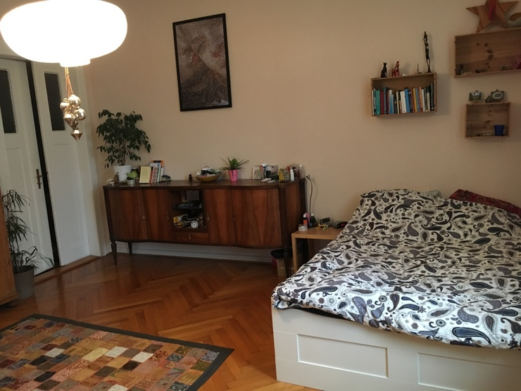 wundersch nes wohnen am n rnberger ei wg zimmer in. Black Bedroom Furniture Sets. Home Design Ideas