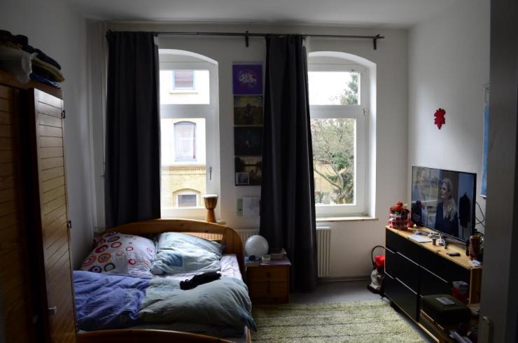 zwei zusammenh ngende zimmer 25 m auch f r zwei personen. Black Bedroom Furniture Sets. Home Design Ideas