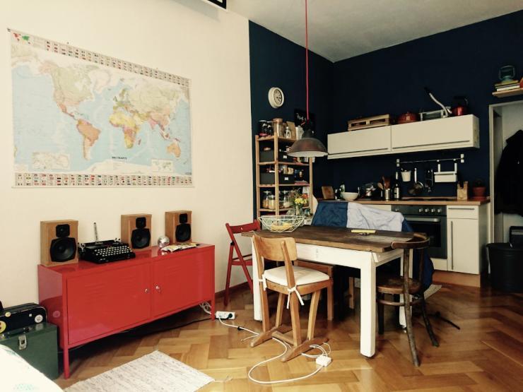 One Room Flat For Zwischenmiete In Wiehre 1 Zimmer
