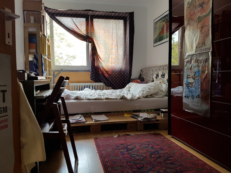 11qm unm bliertes zimmer zur zwischenmiete mit optionaler verl ngerung in offener 3er wg wgs. Black Bedroom Furniture Sets. Home Design Ideas