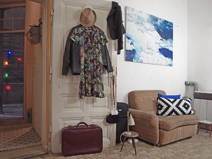 mein atelier mit schlafm glichkeit ist zur zwischenmiete frei 1 zimmer wohnung in wien landstra e. Black Bedroom Furniture Sets. Home Design Ideas
