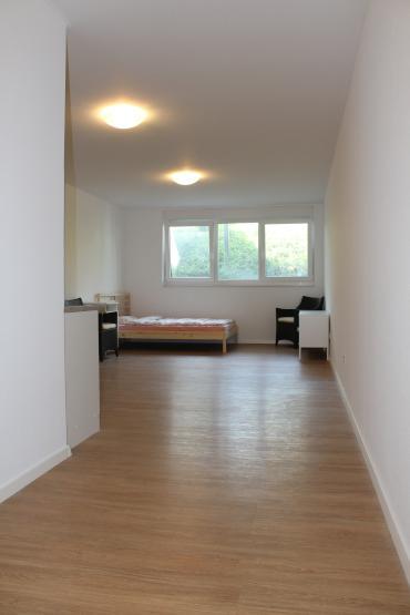 erstbezug moderne m blierte wohnung mit hochwertiger ausstattung 1 zimmer wohnung in. Black Bedroom Furniture Sets. Home Design Ideas