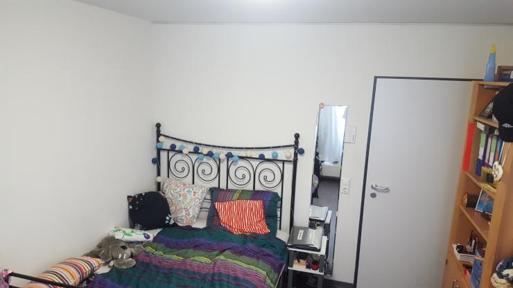 m bliertes zimmer zur zwischenmiete im studentenwohnheim wg zimmer in bremen horn. Black Bedroom Furniture Sets. Home Design Ideas