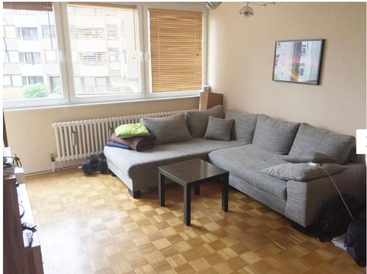 2 zimmer wohnung mit ebk balkon kellerraum pkw stellplatz nahe uni ggf m bliert wohnung. Black Bedroom Furniture Sets. Home Design Ideas