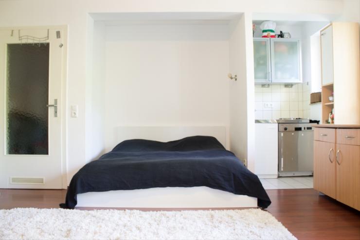 wohlf hlwohnung zum verlieben ideal f r studenten berufspendler oder junge p rchen 1 zimmer. Black Bedroom Furniture Sets. Home Design Ideas