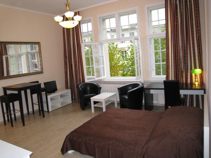 singlewohnung modern m bliert nahe rudolph wilde park 1. Black Bedroom Furniture Sets. Home Design Ideas