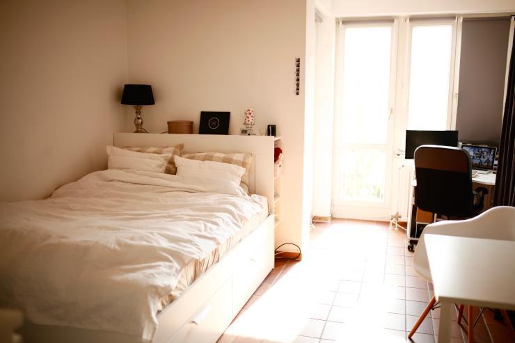 gem tliche kleine wohnung in s lz sehr nah an der uni 1 zimmer wohnung in k ln s lz. Black Bedroom Furniture Sets. Home Design Ideas