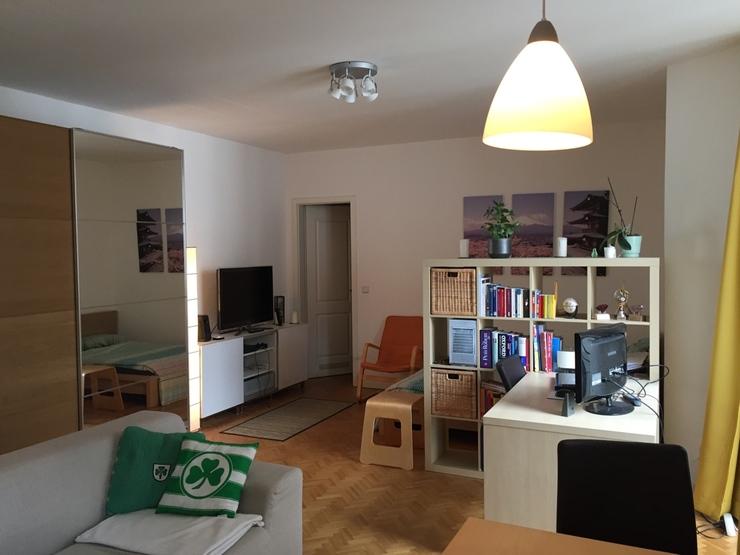 traumhafte 44qm wohnung mit balkon im prenzlauer berg 1 zimmer wohnung in berlin prenzlauer berg. Black Bedroom Furniture Sets. Home Design Ideas