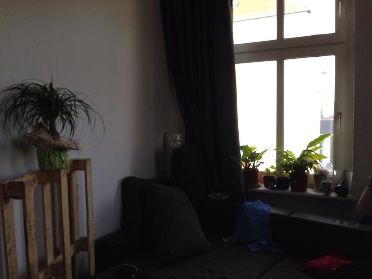 gro es helles eckzimmer hochbett in 4er wg wgs in. Black Bedroom Furniture Sets. Home Design Ideas