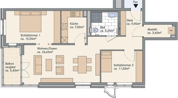 wohnungen hannover wohnungen gesuche in hannover wg. Black Bedroom Furniture Sets. Home Design Ideas