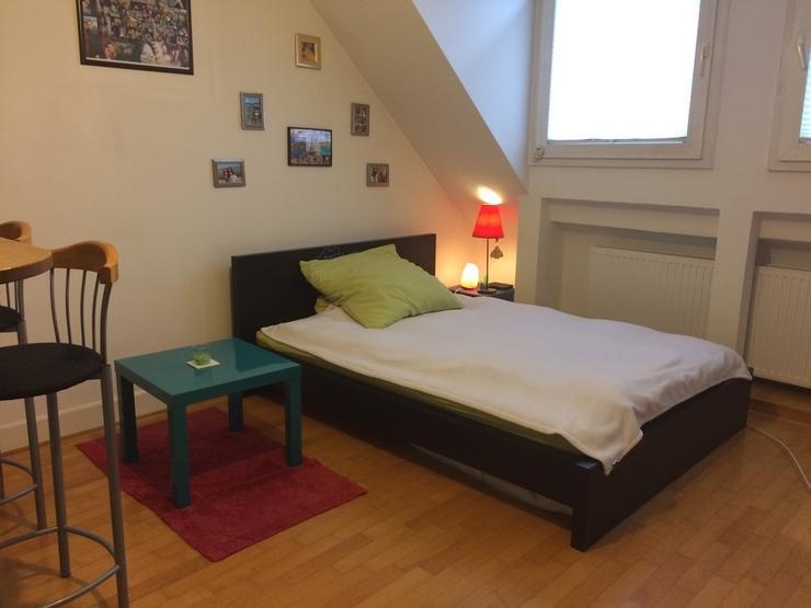 sch ne ruhige und sehr gut gelegene 1 zimmer wohnung 1. Black Bedroom Furniture Sets. Home Design Ideas