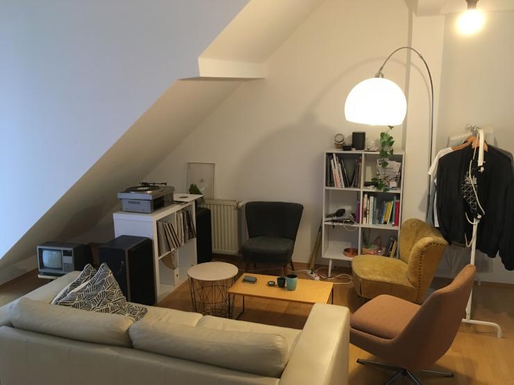 1 zimmer wohnung in sachsenhausen 1 zimmer wohnung in. Black Bedroom Furniture Sets. Home Design Ideas