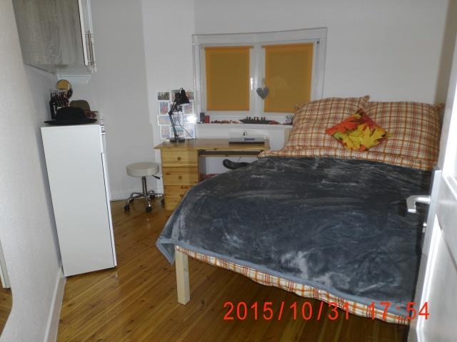 f r junge frau ab zimmer frei 10 m voll m bliert king size bett wlan city nord. Black Bedroom Furniture Sets. Home Design Ideas