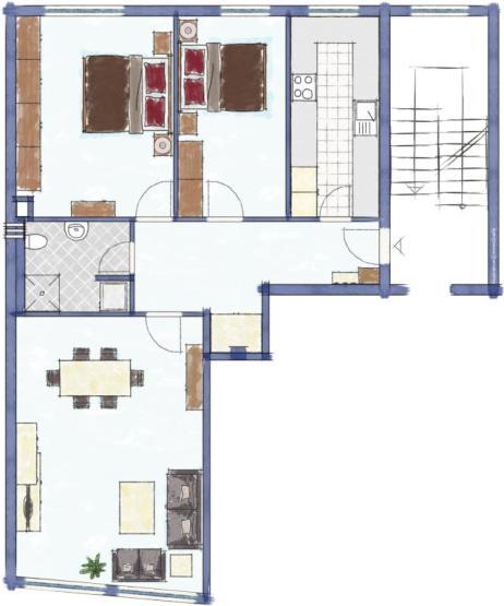 komplett sanierte wg wohnung im herzen des bermuda3eck 2. Black Bedroom Furniture Sets. Home Design Ideas