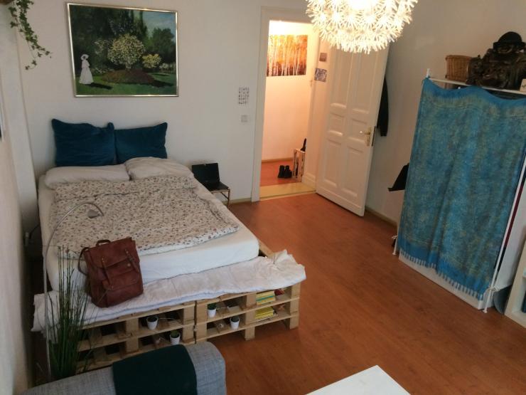 1 zimmer wohnung neben sch nhauser allee arcaden 1. Black Bedroom Furniture Sets. Home Design Ideas